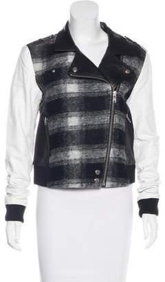 Paige Wool Moto Jacket