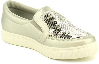 Refresh Pearl Sequin Slip-On Sneaker $37.99 thestylecure.com