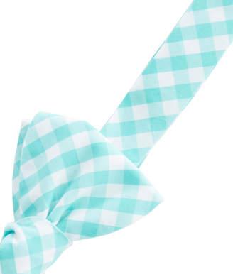 Vineyard Vines Corozo Gingham Woven Bow Tie