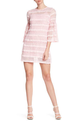 Cynthia Rowley Floral Lace Fringe Dress
