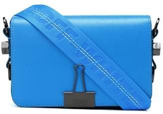 Off-White Small Binder Clip leather shoulder bag