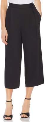 Vince Camuto D-Ring Side Wide Leg Crop Pants