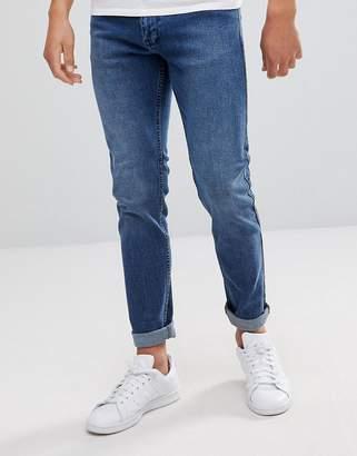 Dr. Denim Clark Worn Ash Blue Slim Jeans