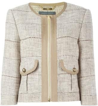 Alberta Ferretti tweed jacket