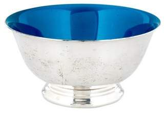 Reed & Barton Silverplate & Enamel Paul Revere Bowl