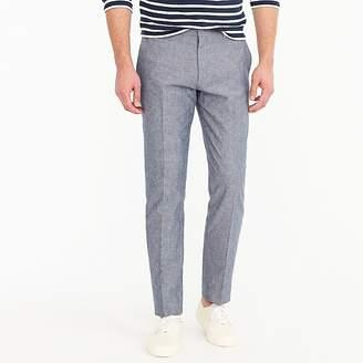 J.Crew Ludlow unstructured suit pant in cotton-linen