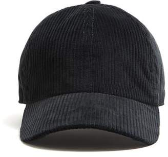 Lock & Co Hatters Lock and Co Corduroy Rimini Corduroy Dad Hat in Grey
