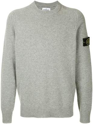 Stone Island crew neck knitted sweater