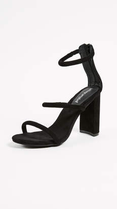 Jeffrey Campbell Lexia Block Heel Sandals