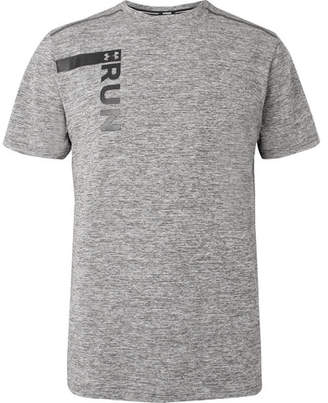 Under Armour Printed Mélange Threadborne Heatgear T-Shirt