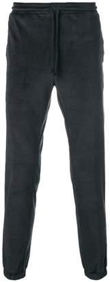 Daniele Alessandrini velvet track trousers