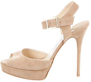 Jimmy ChooJimmy Choo Linda Platform Sandals w/ Tags