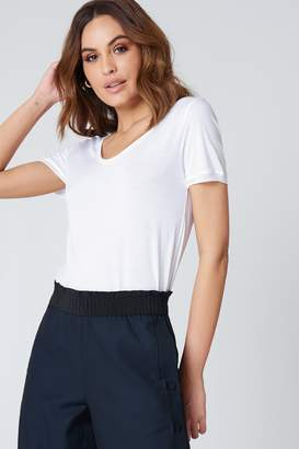 Filippa K Scoop Neck Tee White