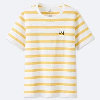 Uniqlo Women's Sprz Ny Short-sleeve Graphic T-Shirt (jean-michel Basquiat)