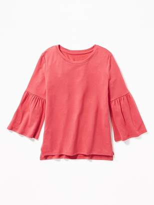 Old Navy Plush-Knit Bell-Sleeve Top for Girls