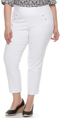 Briggs Plus Size Millennium Pull-On Ankle Pants