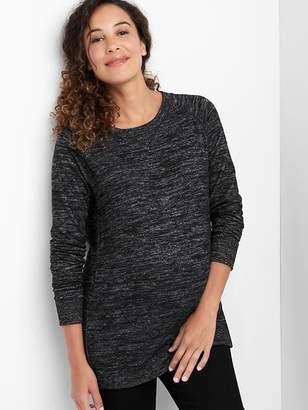 Gap Maternity softspun knit crew sweatshirt