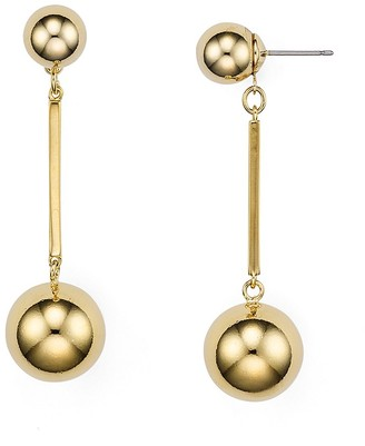 kate spade new york Double Ball Drop Earrings $78 thestylecure.com