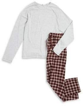 UGG Cotton Top and Plaid Pants