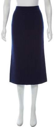 Organic by John Patrick Merino Wool Midi Skirt