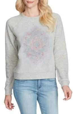 Jessica Simpson Kelara Raglan-Sleeve Sweater