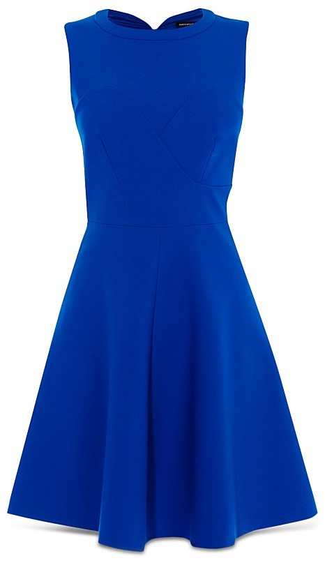 KAREN MILLEN Seamed Skater Dress 4