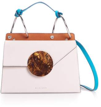 Lente Danse White Mini Phoebe Shoulder Bag