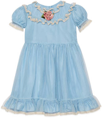 Children's silk and tulle dress $1,380 thestylecure.com