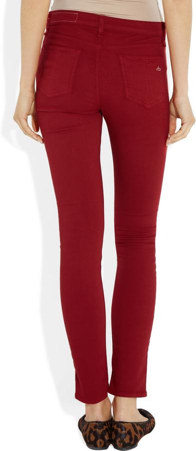 Rag and Bone Rag & bone JEAN Mid-rise skinny jeans