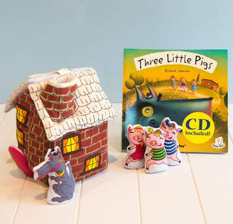 Christian Dior Jolly Fine Three Little Pigs Book, And Play Set