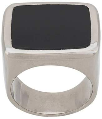 Givenchy square signet ring