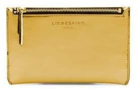 Liebeskind Berlin Glossy Metallic Leather Pouch