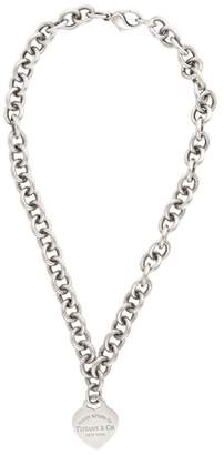 Tiffany & Co. & Co. Sterling Silver Return To Heart Necklace