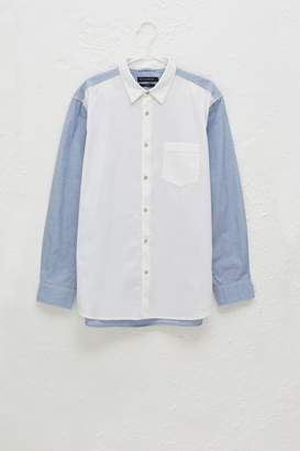 French Connenction End On End Oxford Shirt