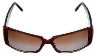Judith Leiber Embellished Tinted Sunglasses