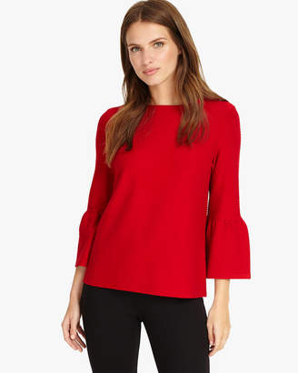 Phase Eight Farah Fluted Sleeve Top