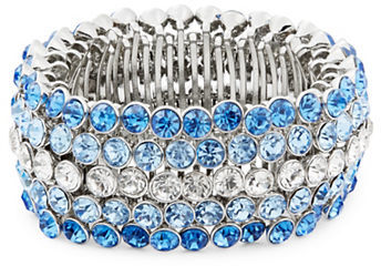 Carolee Carolee Something Blue Stretch Bracelet