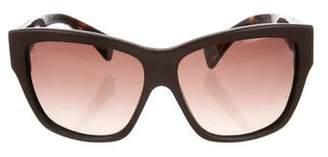 Alexander McQueen Tinted Oversize Sunglasses