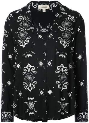 L'Agence patterned blouse