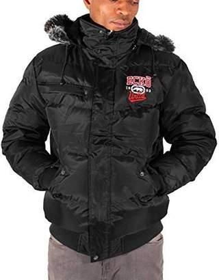 Ecko Unlimited Mens Boys Reventon Short Parka Warm Winter Hooded Jacket Hip Hop (M, )