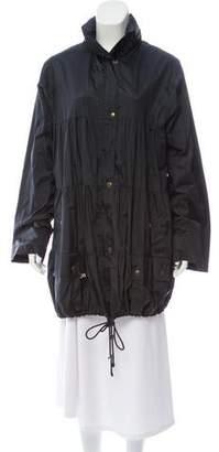 Sonia Rykiel Long Sleeve Drawstring Jacket
