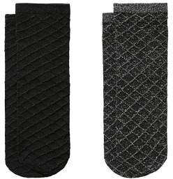 MANGO Pack 2 metallic socks