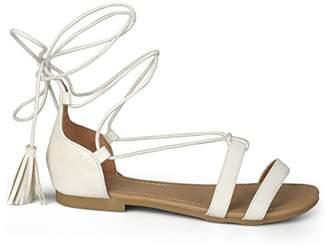 Brinley Co. Women's AVISS Flat Sandal