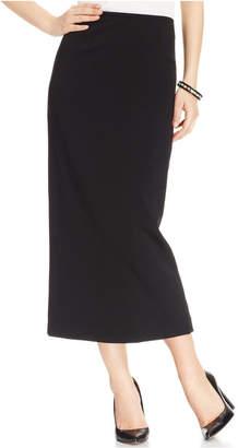 Kasper Crepe Column Skirt $69 thestylecure.com