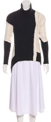 Helmut Lang Long Sleeve Turtle Neck Sweater