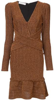 DAY Birger et Mikkelsen Patbo long sleeve lurex dress