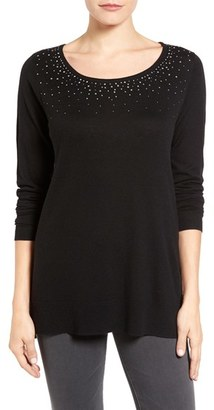 Women's Nydj Embellished Sweater $98 thestylecure.com