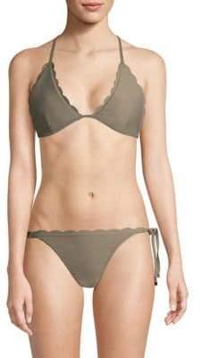 Heidi Klein Scallop Triangle Bikini Top