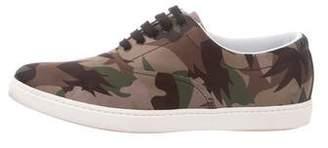 Tomas Maier Camo Palm Low-Top Sneakers