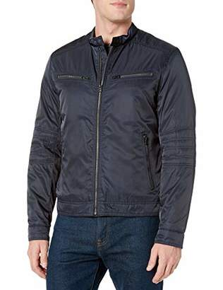 Lucky Brand Men's Spafford Moto Hipster Jacket